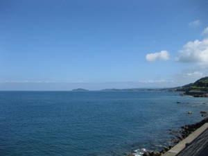 道の駅から天草灘・東シナ海を見た様子 鹿児島シティ法律事務所 20110626のサムネール画像