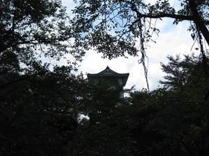 松山城址頂上