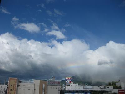 事務所から見えた虹の様子(2)