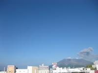 桜島噴火の様子1回目