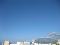 桜島噴火の様子2回目
