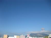 桜島噴火の様子3回目