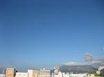 桜島噴火の様子5回目