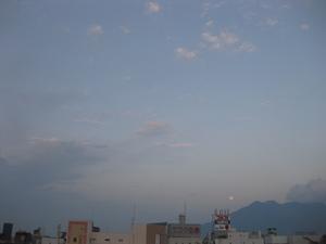 夕月と桜島(1).JPG