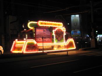 花電車(2)(2011年第60回おはら祭り).JPG